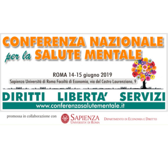 Conferenza Nazionale per la Salute Mentale: Diritti, Libertà e Servizi.